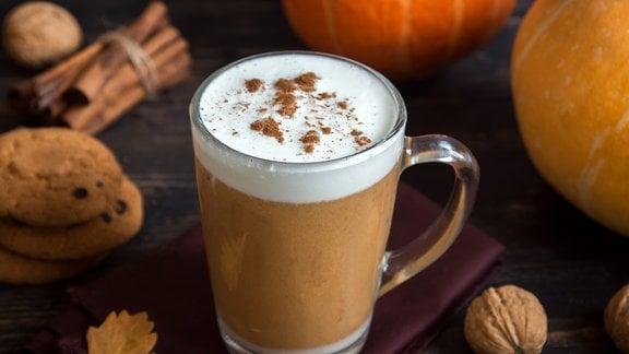 Kaffee Kürbis Pumpkin Spice Latte
