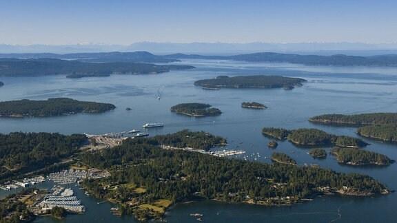 Inseln aus der Luft