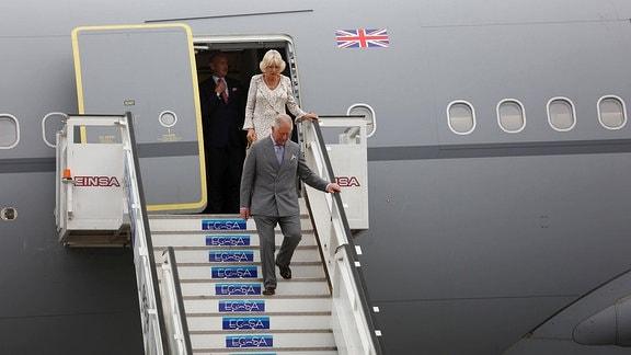 Prinz Charles und Camilla in Kuba
