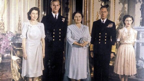 Elizabeth II. und Prinz Philip