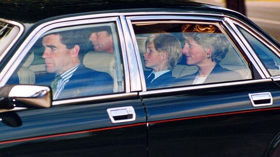 Harry und Lady Diana
