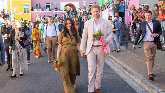 Prinz Harray und Meghan, Herzogin von Sussex