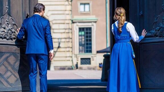 Prinz Carl Philip und Prinzessin Sofia von Schweden