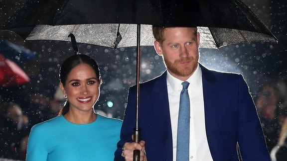 Prinz Harry und Meghan in London