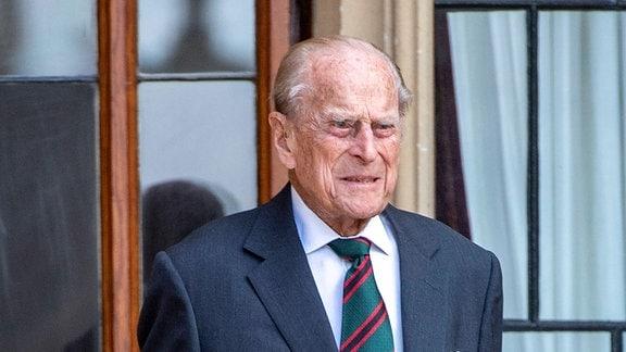 Prinz Philip im Krankenhaus