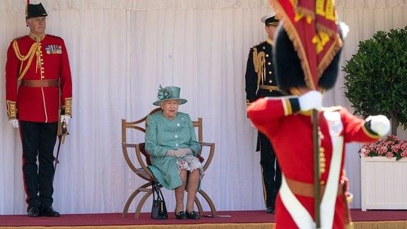 Queen Elizabeth II. Geburtagsfeier