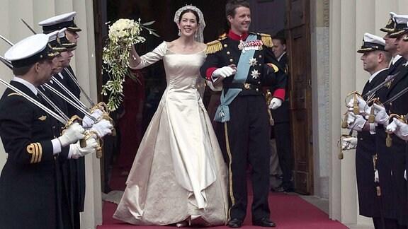 Hochzeit von Kronprinz Frederik und Kronprinzessin Mary