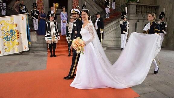 Hochzeit von Prinz Carl Philip und Sofia Hellqvist
