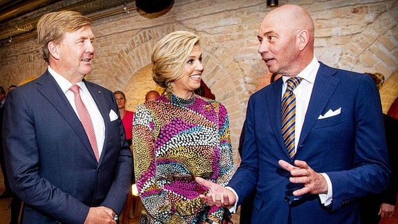 Das niederländische Königspaar Maxima und Willem-Alexander