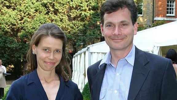 Lady Sarah und Daniel Chatto