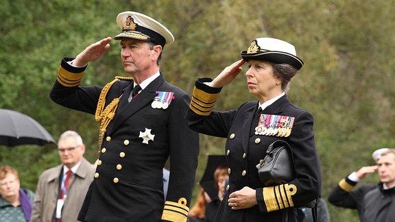 Princess Royal Anne Timothy Laurence