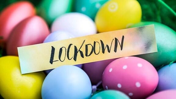 Lockdown mit Ostereiern