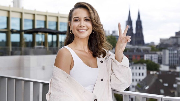 Mandy Grace Capristo beim 1. Media Day von Semmel Concerts in der Monkey Bar im Hotel The Circle. Köln, 03.09.2019.