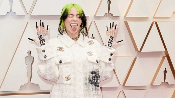 Billie Eilish bei den Oscars