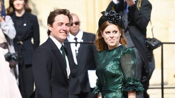 Prinzessin Beatrice und Edoardo Mozzi