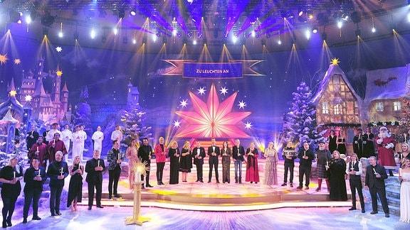 Großes Finale des Adventsfestes