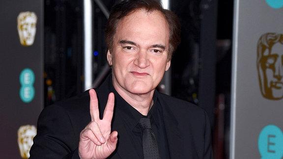 Quentin Tarantino bei der Verleihung der der BAFTA Film Awards 2020