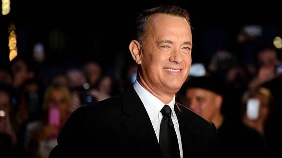 Der US-amerikanische Schauspiele Tom Hanks