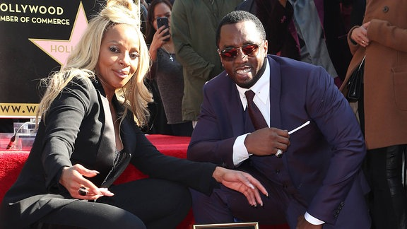 Mary J. Blige und Sean Combs