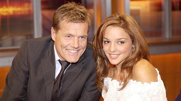 Dieter Bohlen mit seiner Ex-Freundin Estefania Küster.