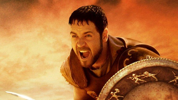 Russel Crowe im Film Gladiator