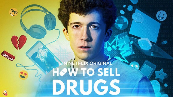 Plakat der Serie HOW TO SELL DRUGS ONLINE (FAST).