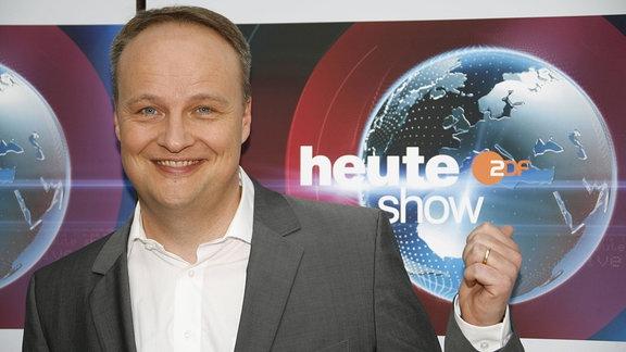 Moderator Oliver Welke.