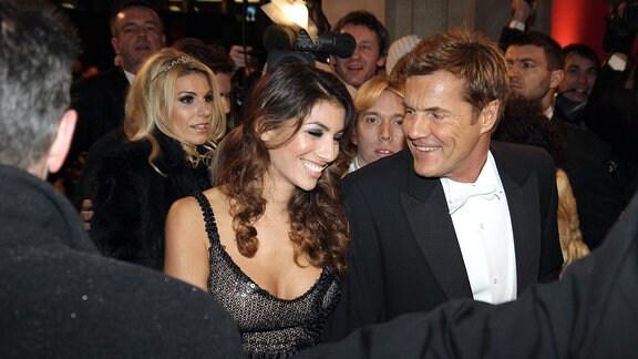 Dieter Bohlen und Fatma Carina während der Ankunft auf dem Wiener Opernball.