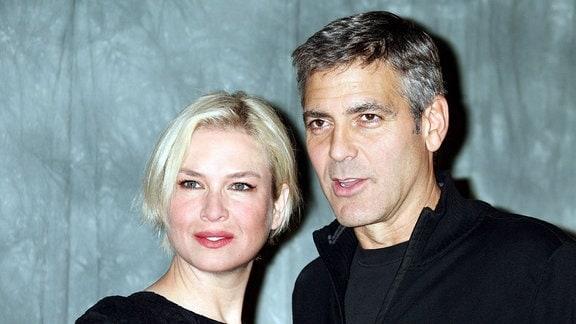 Renee Zellweger und George Clooney