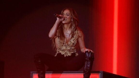 Jennifer Lopez beim Global Citizen Live