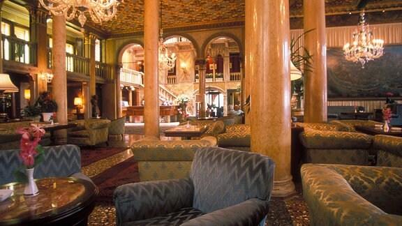 Innenansicht des Hotel Danieli in Venedig