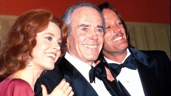 Jane, Henry und Peter Fonda, 1978