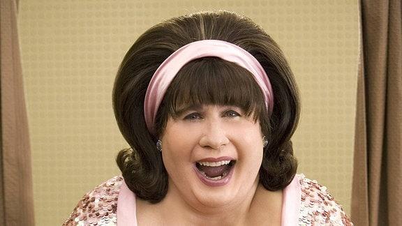 John Travolta verkleidet als Frau.