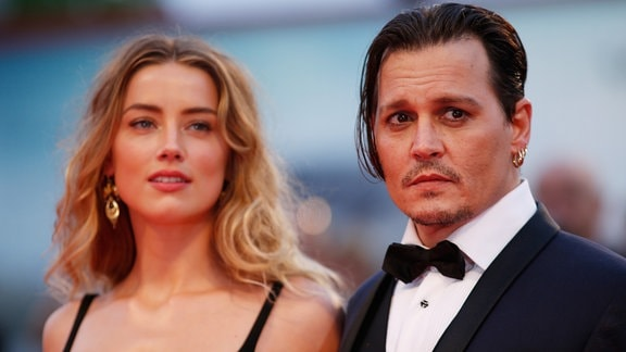 Johnny Depp und Amber Heard, 2015