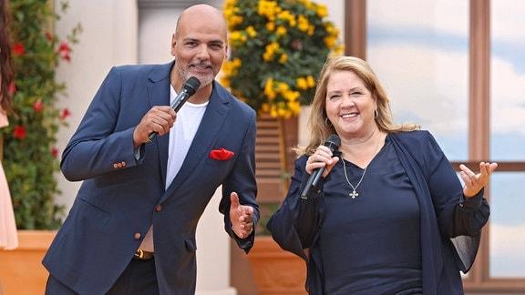 Jay Alexander und Kathy Kelly