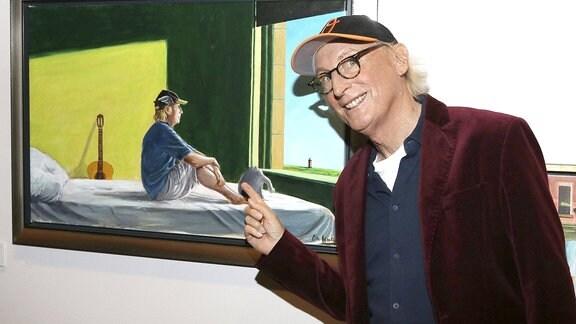 Otto Waalkes bei der Präsentation von Otto - die Ausstellung im Museum für Kunst und Gewerbe.