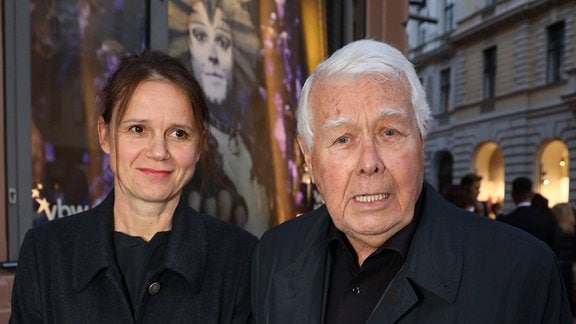 CATS Premiere im Ronacher Wien, Ronacher, 20. 09 .2019 Peter Weck mit Begleitung Joanna Rzepa