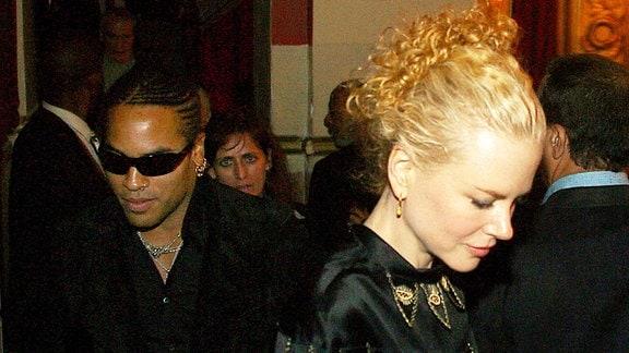 Lenny Kravitz und Nicole Kidman