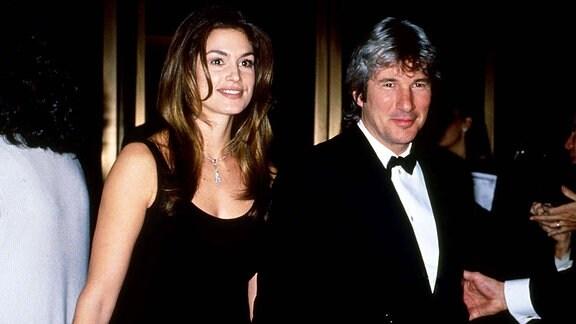 Richard Gere und Cindy Crawford, 1995