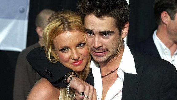 Britney Spears und Colin Farrell, 2003