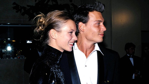 Kate Moss und Johnny Depp