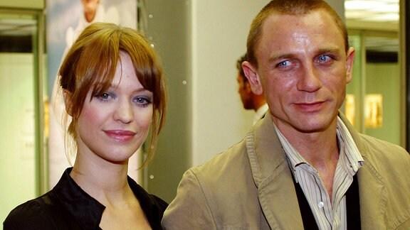 Schauspielerin Heike Makatsch (GER) und ihr Lebensgefährte Daniel Craig (GBR/Schauspieler)