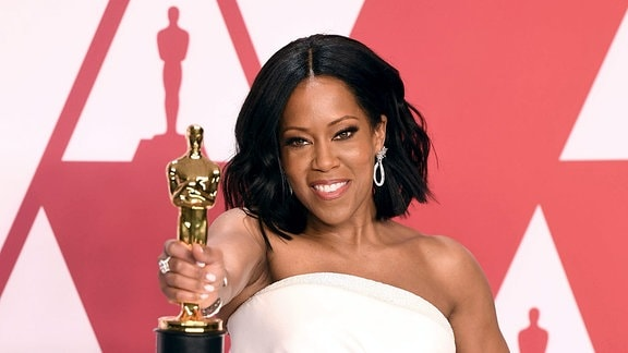 Regina King beim Fototermin im Press Room in Hollywood, Los Angeles.