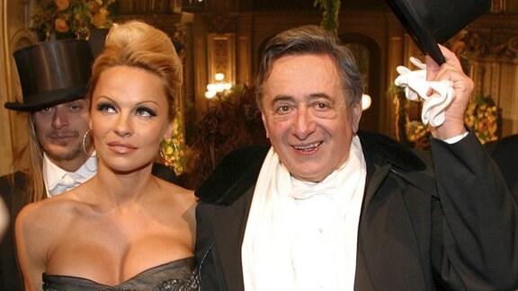 Pamela Anderson und Richard Lugner