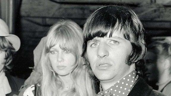 Beatle Ringo Starr und Patti Boyd