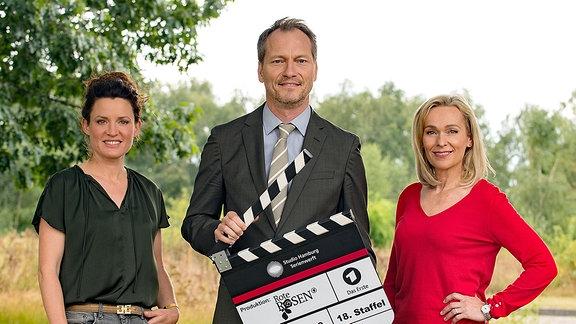 Judith Sehrbrock, Herbert Schäfer und Jana Hora-Goosmann