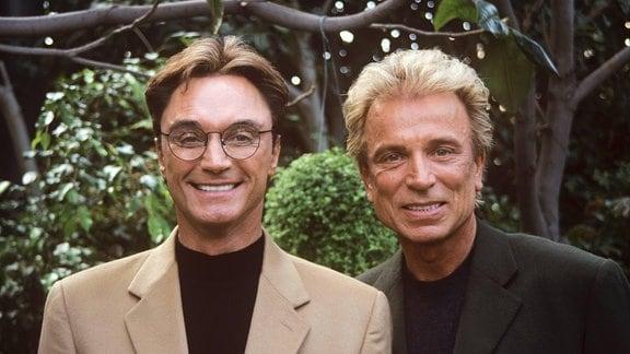 Siegfried & Roy (Siegfried Fischbacher and Roy Horn) circa 2000