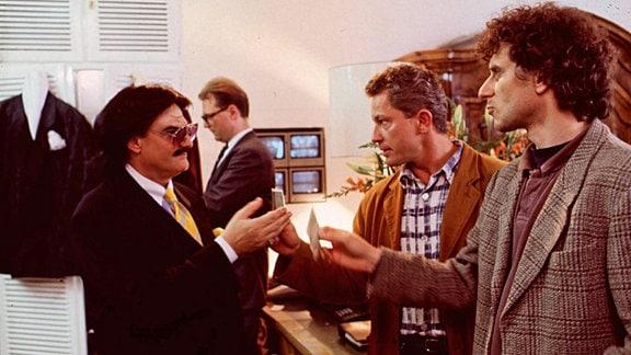 Rudolf Moshammer, Miroslav Nemec und Udo Wachtveitl