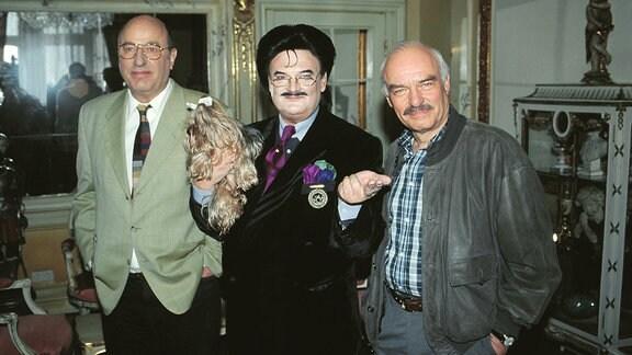 Manfred Krug, Rudolph Moshammer und Charles Brauer