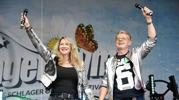 Yvonne König mit Ehemann Markus